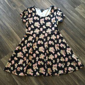 Forever21+ floral A-line dress